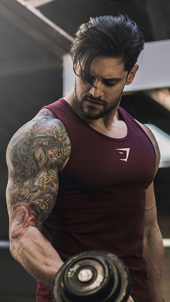 dd1ec23dc5422 fitness Bodybuilding Tank Tops Men