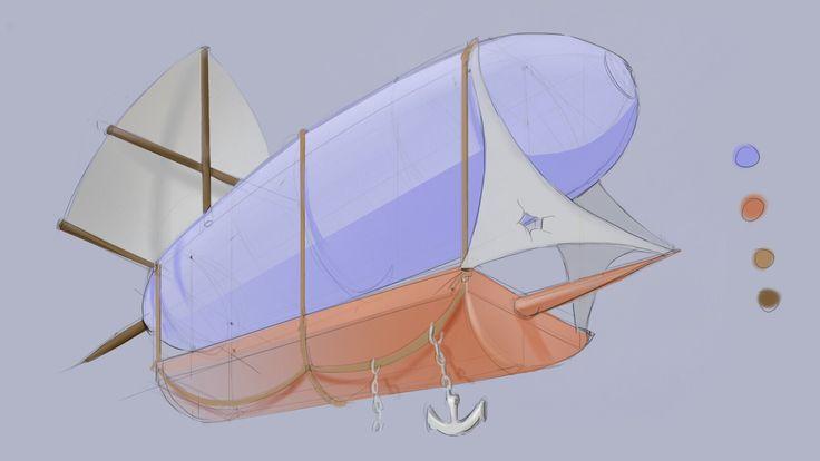 Zeppelin ship