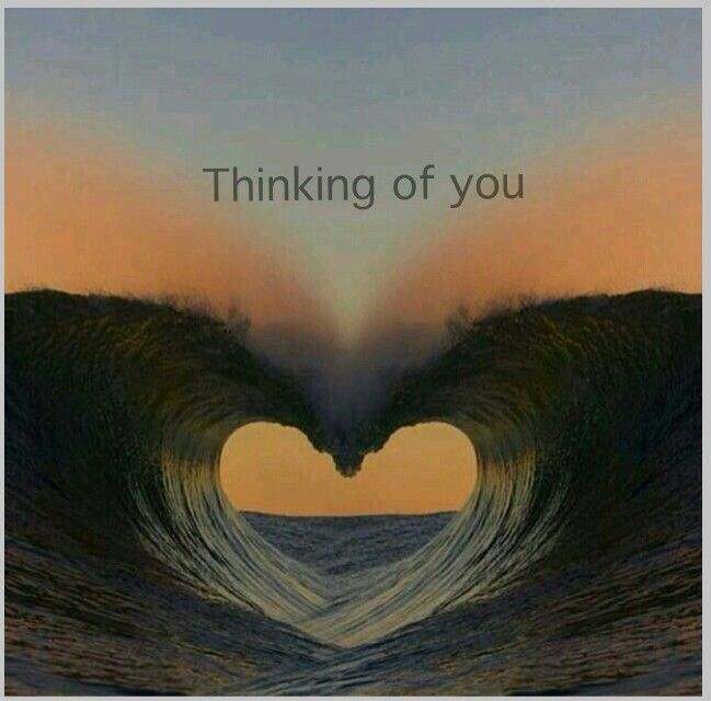 #Thinking of you
