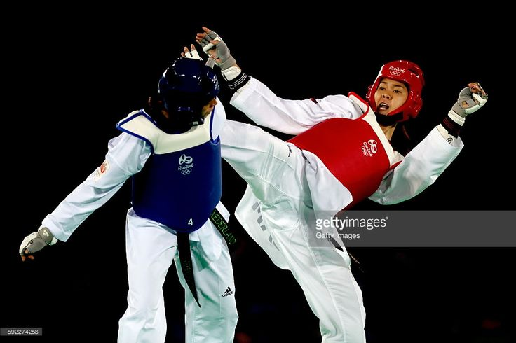 Reshmie Shari Oognik of Netherlands competes against Seavmey Sorn of Cambodia…