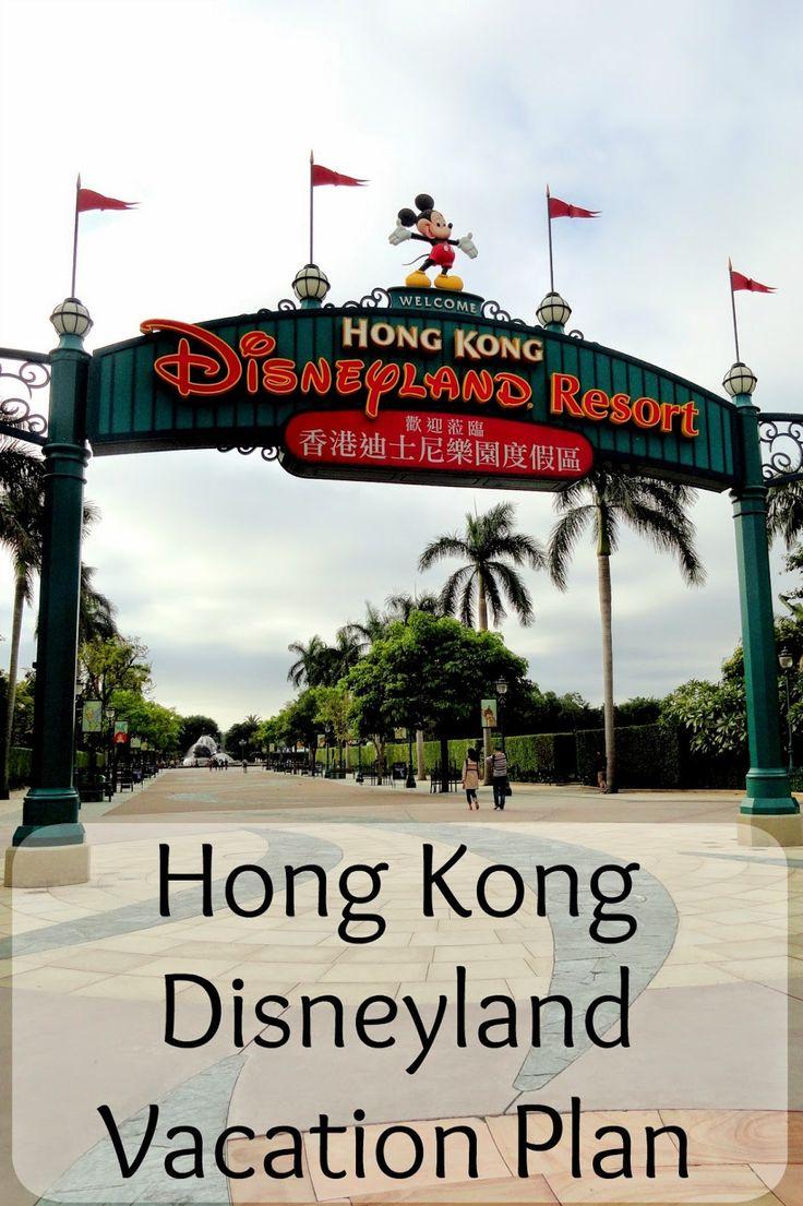 Hong Kong Disneyland Itinerary and Budget