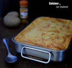 Parmentier de Poulet au Curry - Cuisiner... tout Simplement, Le Blog de cuisine de Nathalie
