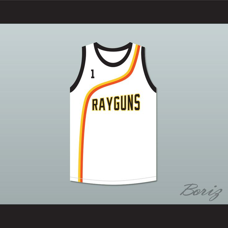 "Baron Davis 1 Roswell Rayguns White Basketball Jersey. STITCH SEWN GRAPHICS  CUSTOM BACK NAME CUSTOM BACK NUMBER ALL SIZES AVAILABLE SHIPPING TIME 3-5 WEEKS WITH ONLINE TRACKING NUMBER Be sure to compare your measurements with a jersey that already fits you. Please consider ordering a larger size, if you prefer a loose fit. HOW TO CALCULATE CHEST SIZE: Width of your Chest plus Width of your Back plus 4 to 6 inches to account for space for a loose fit. Example: 18"" wide chest plus 18"" wide…"