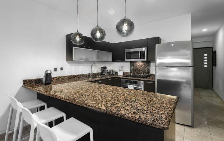 Kitchen, Beachfront Vacation Rental Condo Playa del Carmen