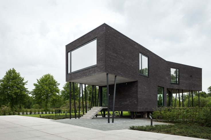 Office Nete by Wil-Ma architectenbureau. Picture by Stijn Bollaert. #architecture #office