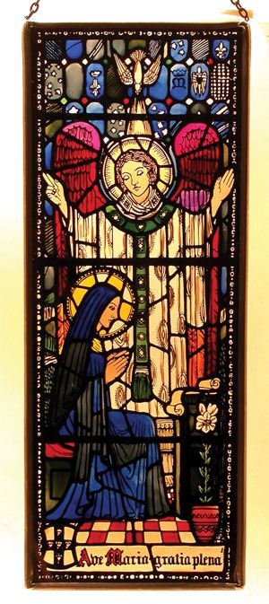The Angel Gabriel & Mary, The Mother Of God.