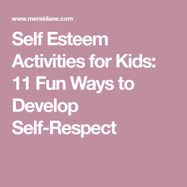 how to develop self esteem pdf