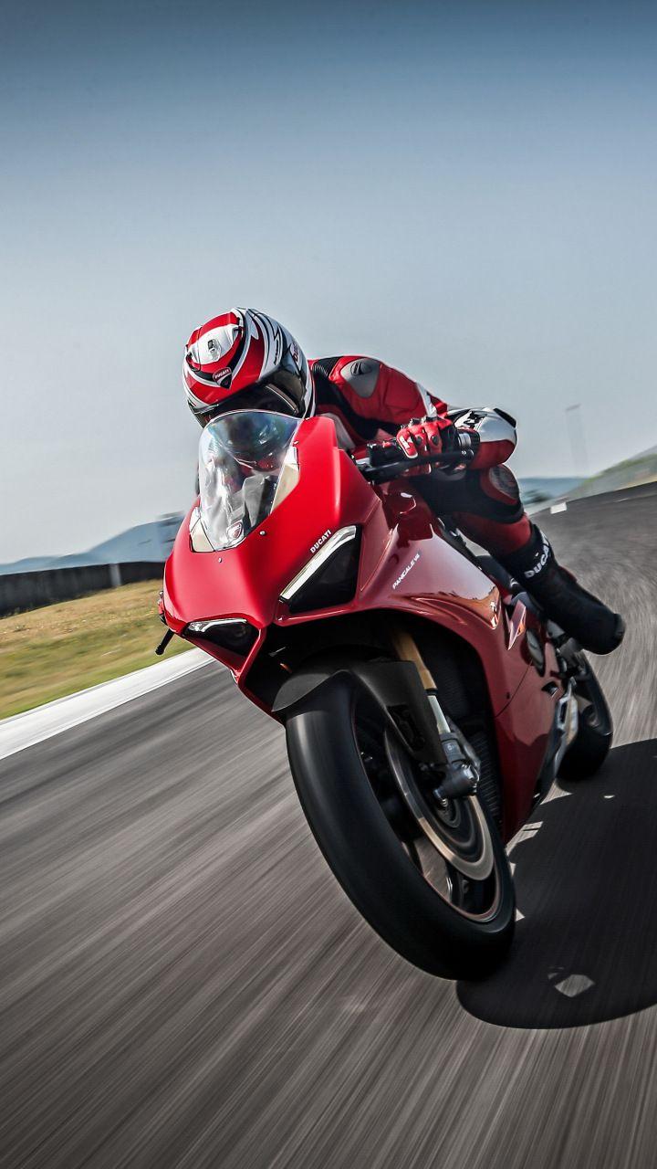 Ducati Panigale V4 Speciale 2018 Racing Bike 720x1280 Wallpaper