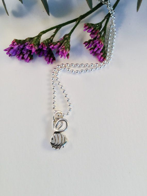 Baby bumble bee Buzz pendant hand made sterling by LovesAvenue
