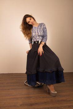 юбка синяя, юбка вязаная, юбка теплая, бохо, бохо стиль, юбка бохо, юбка, юбка ручной работы, юбка дизайнерская, шерстьяная юбка, юбка шерсть, юбка зимняя, юбка осенняя,
