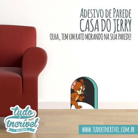 Adesivo Decorativo | Casa do Jerry