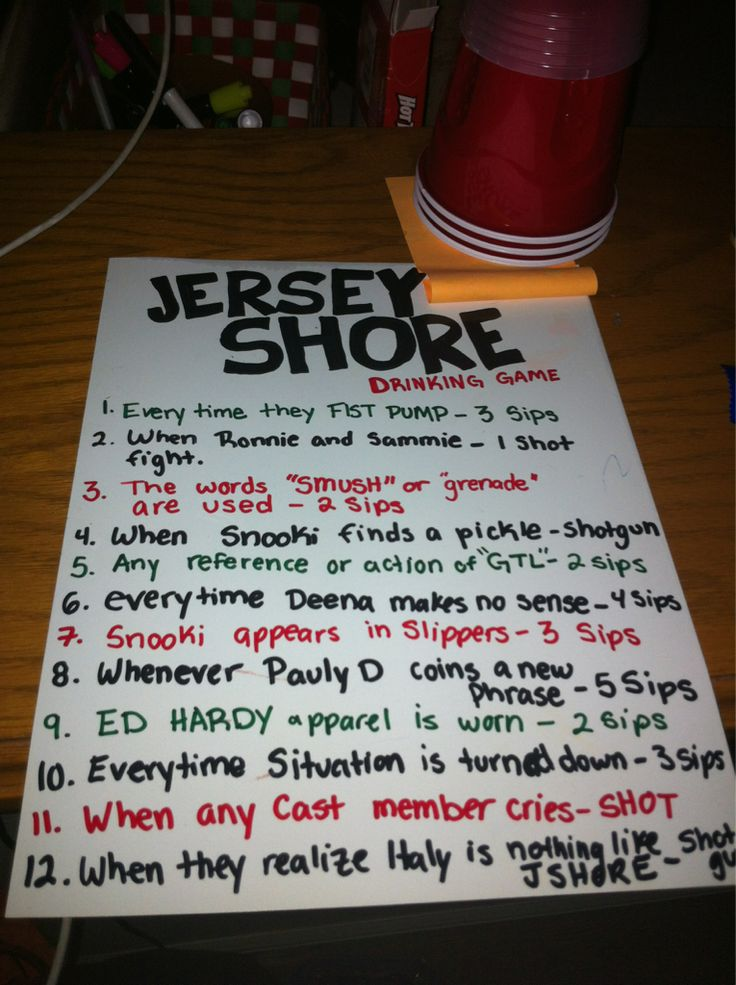 Jersey Shore Drinking Game...: Drinking Games, Shore Drinks, Idea, Thirsty Thursday, Drinks Games, Jersey Shore, Plays, Things, So Funny