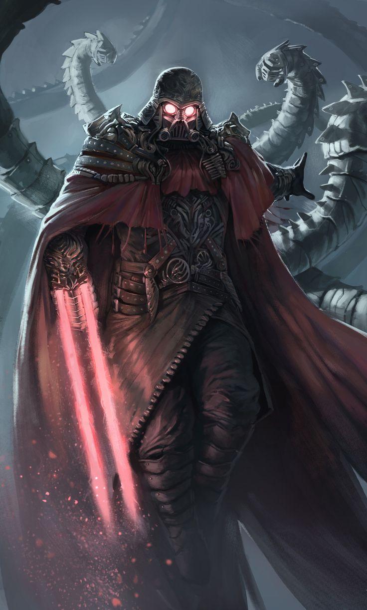 Steampunk Darth Vader by Hazem Ameen
