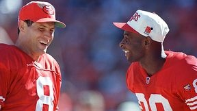 jerry rice and steve young!! the best