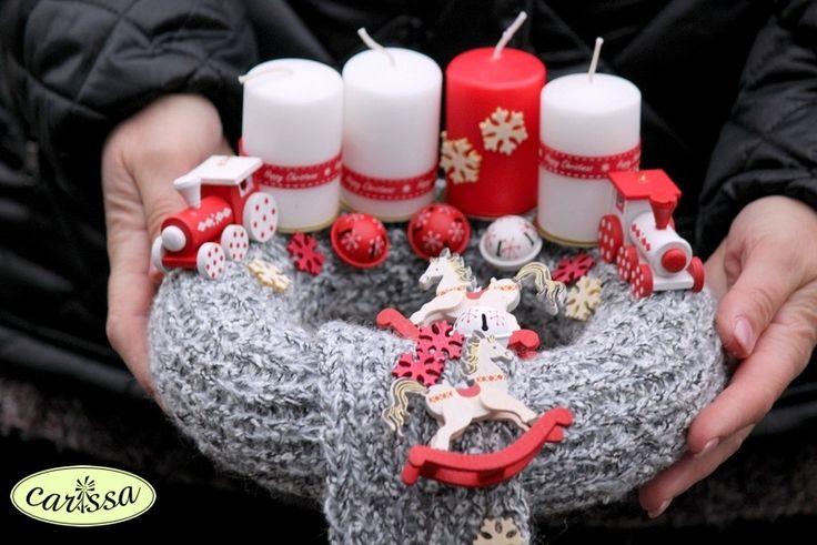 Adventi koszorúk készítése év végén | Carissa Virág és Ajándék