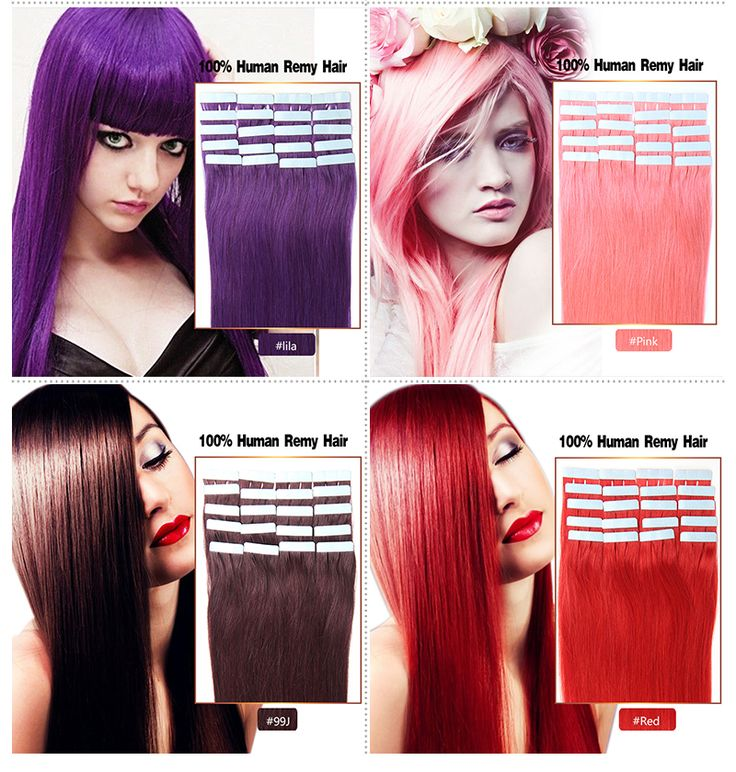 Wholesale Brazilian Tape Hair Extensions 16-24inch 20pcs/lot Tape In Hair Extensions Skin Weft Human Hair Tape In Extensions