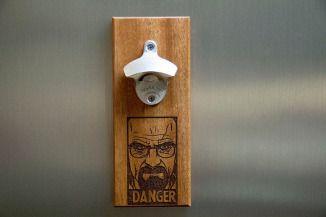 Walter White (Heisenberg) - Breaking Bad Bottle Opener - techgearandgadgets.com