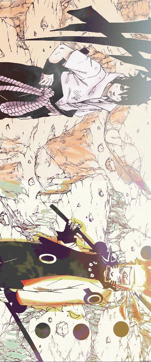 Sasuke and Naruto join forces to overcome the Madara