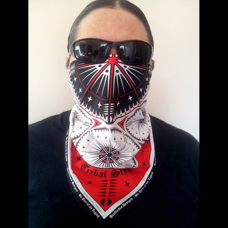 More Than one way to wear a bandana #Connection to the #Ancestors #Bandana (to be released mid 2015). High Quality Cotton and Print. CHECK it out at hanblechiadesigns... (website being revamped and will reopen mid Feb 2015) #www.hanblechiadesigns.com #www.hanblechiadesigns.com #bandana #motorcyclerally #snowboarding #bandanas #nativeamericanbandanas