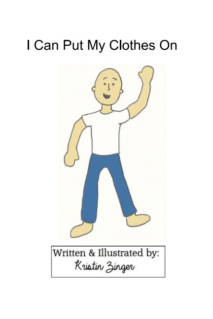 Short story, simple drawings to help focus attention on clothing vocabulary. Can also target body parts, pronouns, where questions and sequencing.