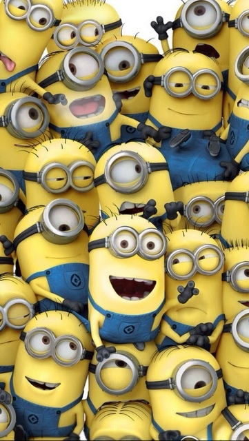 Minions are the coolest ever!! I love them