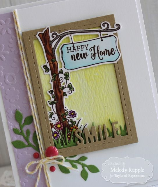 Card Making Ideas New Home Part - 28: Happy New Home Close Up By Melody Rupple