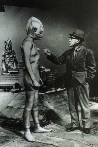Ultra man and his big boss