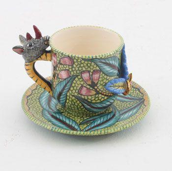 Rhino Espresso Cup | Ardmore Ceramics Tea and Coffee