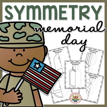 This Memorial Day themed Symmetry worksheet packet includes: • 2 x Helmet Symmetry Worksheets (with and without guides) • 2 x Poppy Symmetry Worksheets (with and without guides) • 2 x Tag Symmetry Worksheets (with and without guides) • 2 x Grave Symmetry Worksheets (with and without guides) • 2 x Medal Symmetry Worksheets (with and without guides) • High quality PDF format. TRY BEFORE YOU BUY CLICK HERE FOR...