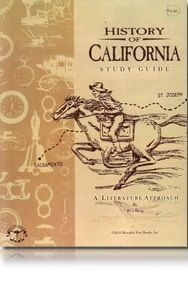 California History  by  Beautiful Feet..Can't wait to start this literature approach to history! So many great books to read and field trips to come..