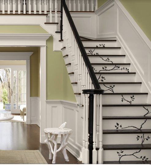 Staircase Design Stairway | ... Staircase Design Ideas Lately This Simple  Stencil Design From Part 49