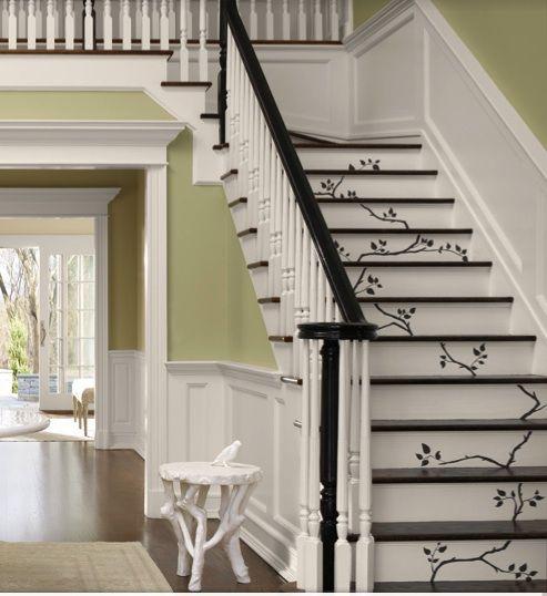 25 Best Ideas About Hardwood Stairs On Pinterest: 25+ Best Ideas About Stenciled Stairs On Pinterest