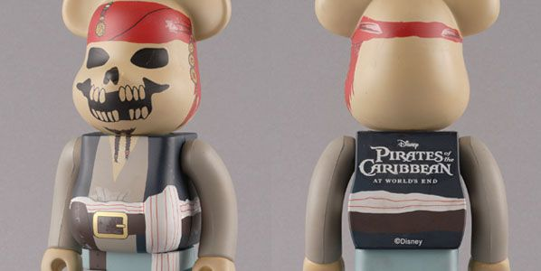 Pirate Of The Caribbean Be@rbrick 1000%