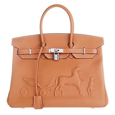 Hermes Women\'s Birkin Handbag With Padlock In Brown luxury4real.com