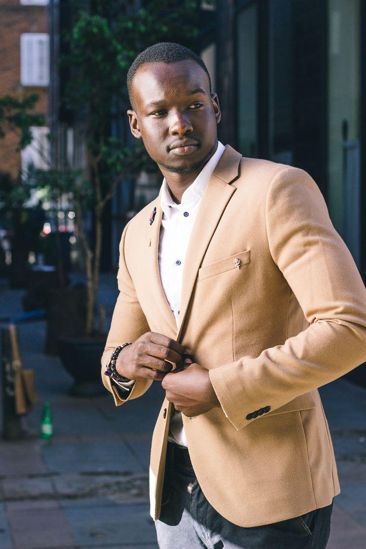 Camel Blazer for men | The Dapper Brother - Kenyan Male Fashion Blogger