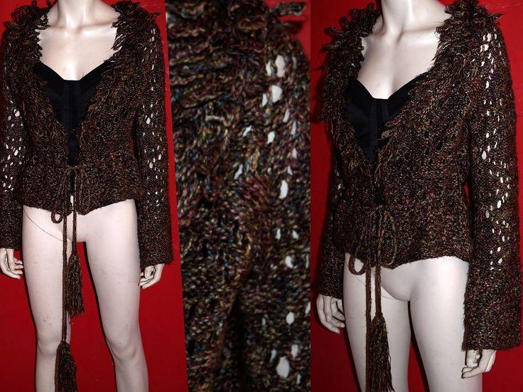Elegancki sweterek blezer WEŁNA wiosna AŻUR 42-44 (4931072136) - Allegro.pl - Więcej niż aukcje.