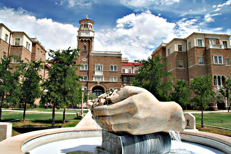 One of our favorite public art pieces on the Texas Tech campus. www.ttu.edu