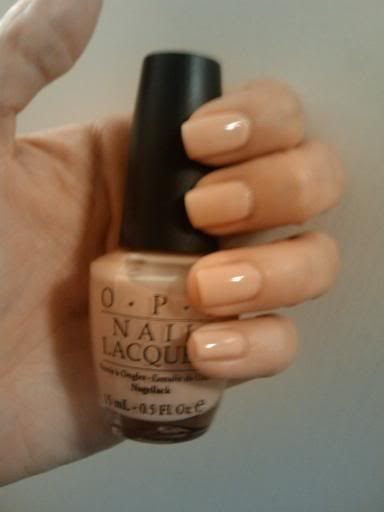 OPI Samoan Sand.  One of the best neutrals I've used.