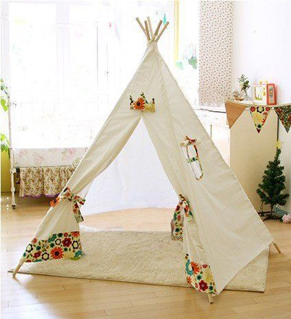 小さなテントティピーを手作り子どもが喜ぶ秘密基地を作ろう