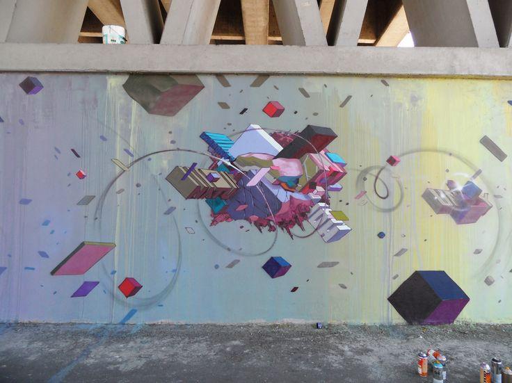 Artist : Etnik. Place : Modena, Italy. Tags : street Art, graffiti, urban culture.