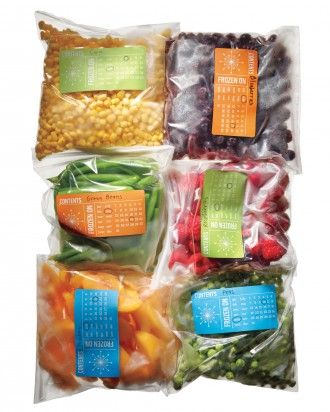 """See the """"Freezer Storage Labels"""" in our Kitchen Organizers gallery"""