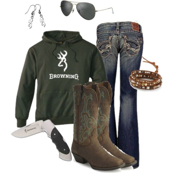 Country Casual, created by rinergirl on Polyvore