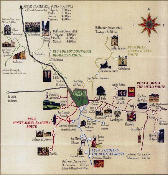oaxaca textile places