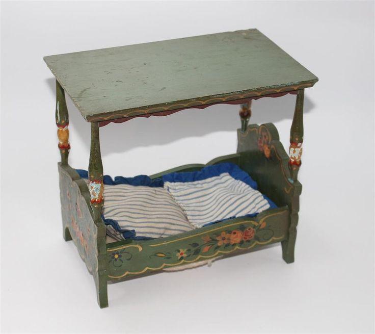 ber ideen zu puppenhaus betten auf pinterest miniature puppenh user und monster high. Black Bedroom Furniture Sets. Home Design Ideas