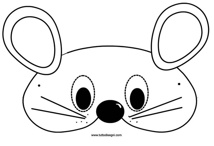 Mouse mask carnival pinterest mice masks and mouse mask for Mouse mask template printable