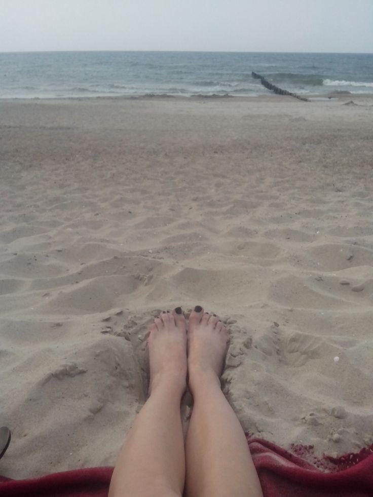 nad polskim morzem zawsze najlepiej :)