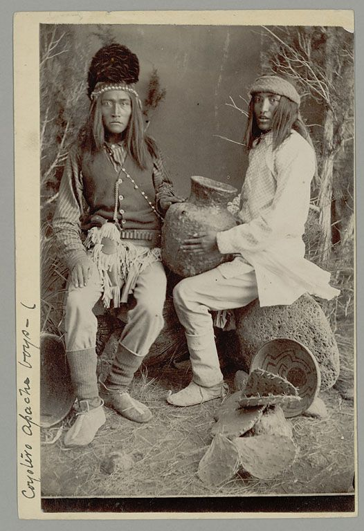 SPC Sw Apache NM ACC 20263 Cat 129781 #50-99 02045300, National Anthropological Archives, Smithsonian Institution
