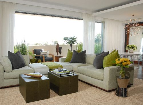 contemporary living room by Annette English