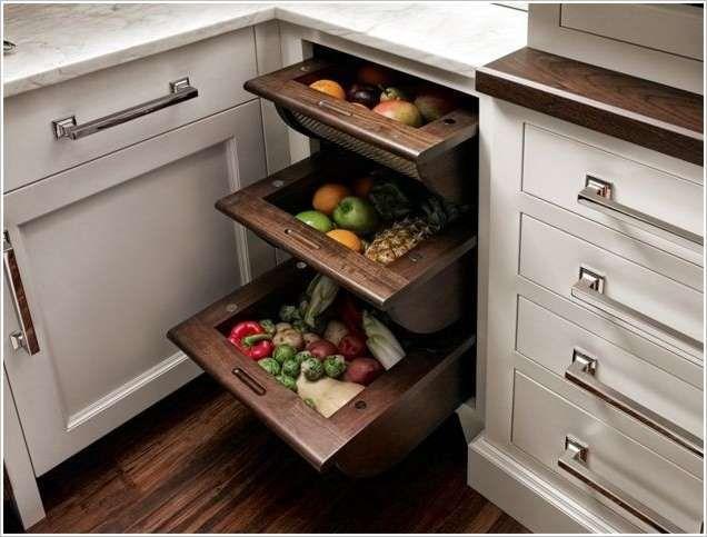 La cocina es el lugar donde almacenamos muchas cosas. Por lo general, un problema surge cuando tratamos de buscar las cosas que hemos almacenado en alguna