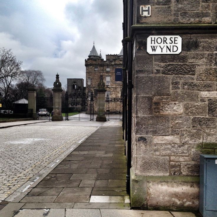 Horse Wynd street. Edinburgh. February '14